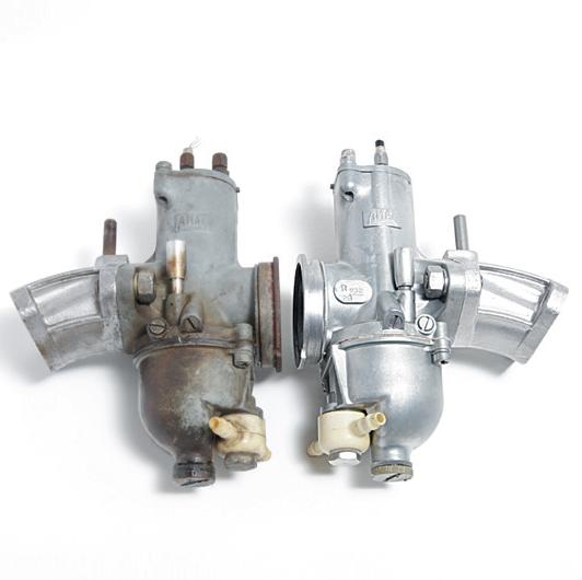 Vandpolering af aluminium karburator