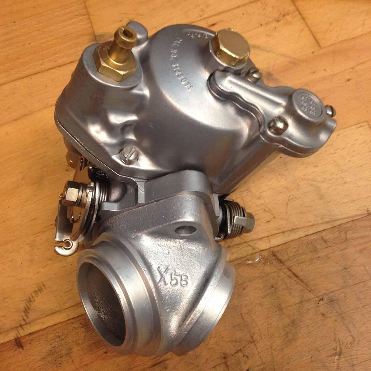 Harley Davidson S&S karburator - Efter Aquanife vandpolering