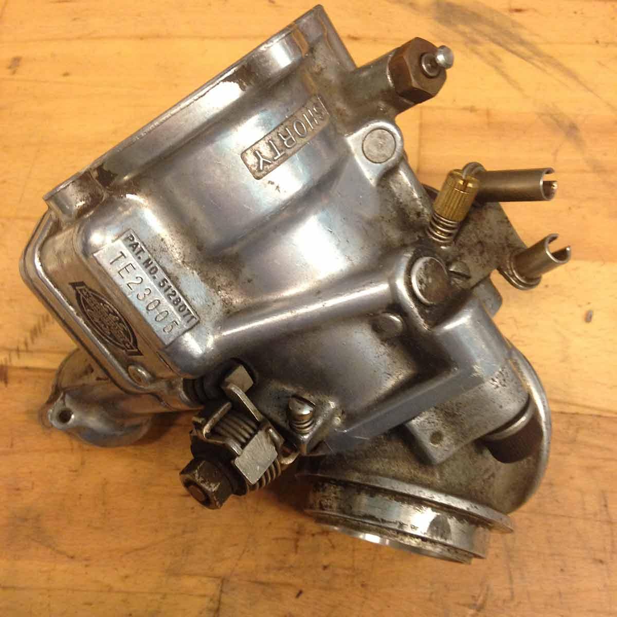 Harley Davidson S&S karburator - Før Aquanife vandpolering
