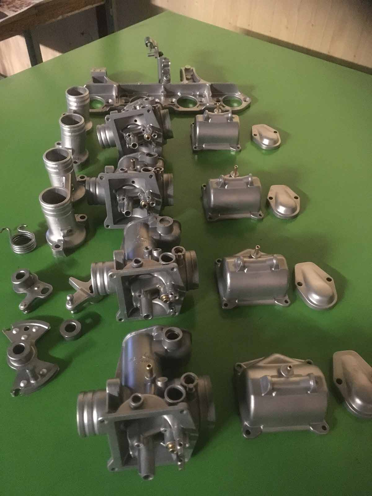 Honda karburatorer - Efter AquaNife vandpolering