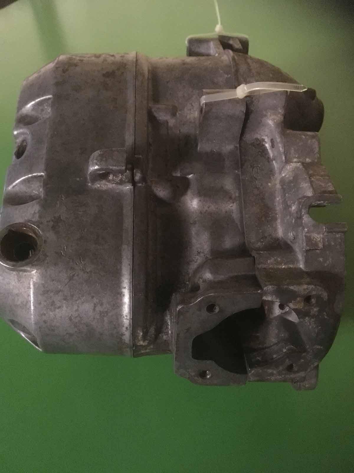 Puch motor - Før AquaNife vandpolering